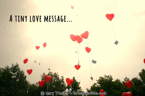 tiny love message copy