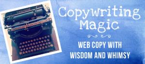 Copywriting magic blue