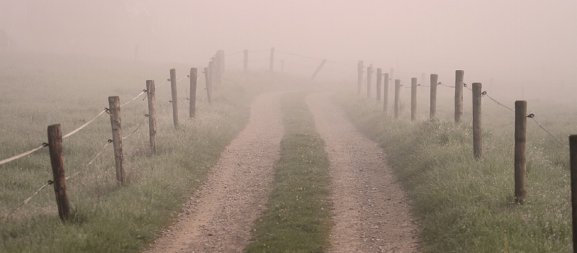 This is what the path looks like: you have no idea where you're going.