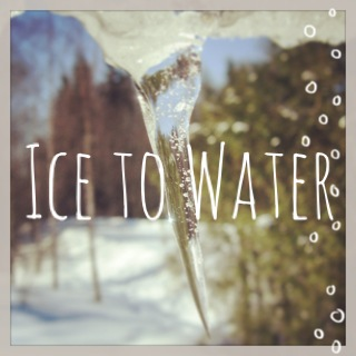 'Ice to Water, Water to Steam' It's a technique for releasing pain, courtesy of Jamie Catto