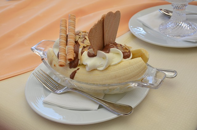 Bananas. Better as dessert, than as an emotional state.